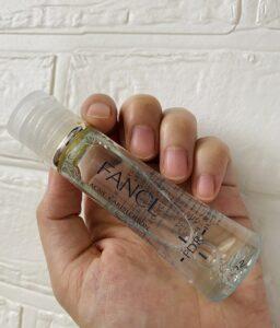 【ファンケル】アクネケア 化粧水 サイズ感
